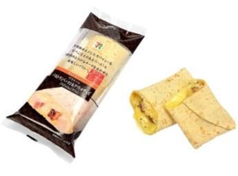 セブンイレブン ブリトーパストラミベーコン&クワトロチーズ