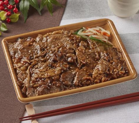 肉の旨味 炙り焼牛カルビ重(麦飯)