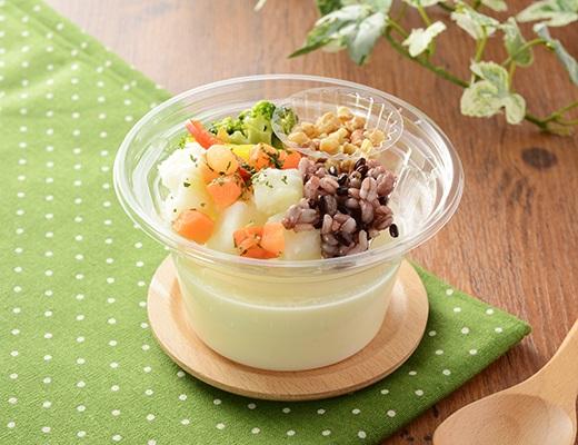 NL 食べる冷製スープ(じゃがいもと五穀)(ローソン)
